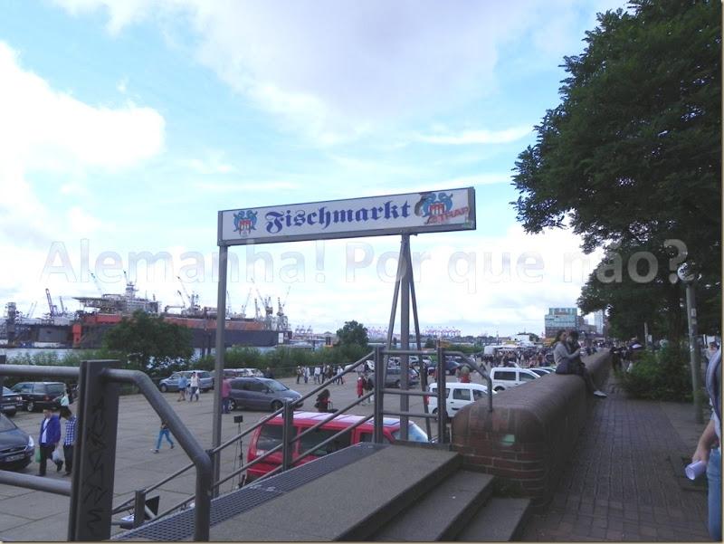 Entrada para o Fischmarkt
