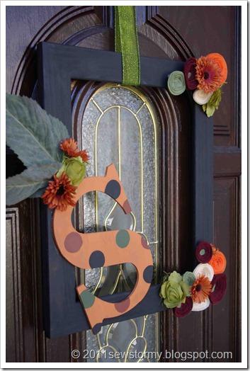Fall door frame 3