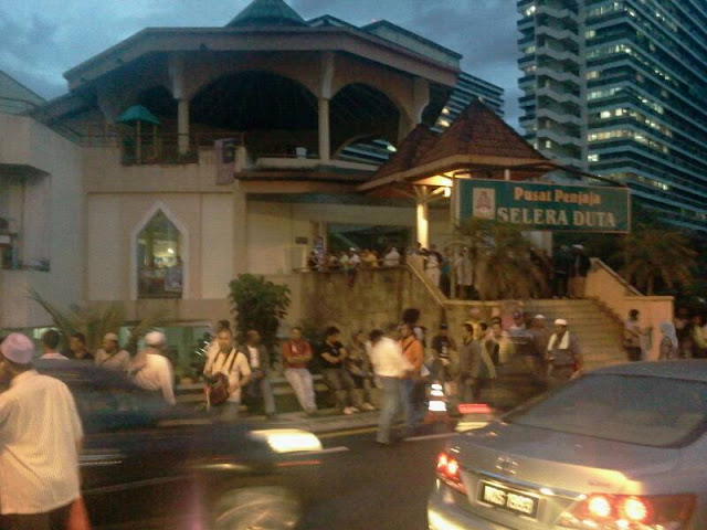 Pusat Penjaja Jalan Duta