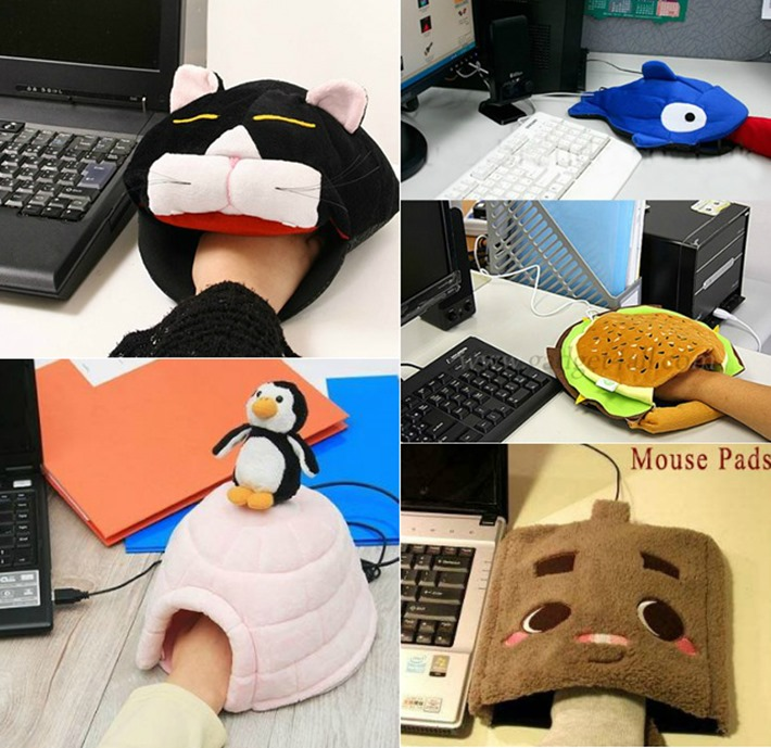 mousepadluva-aquecedor USB