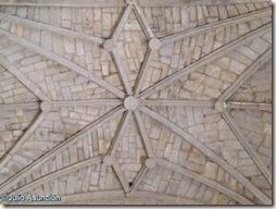 Gallipienzo - Bóveda estrellada de la iglesia de San Salvador