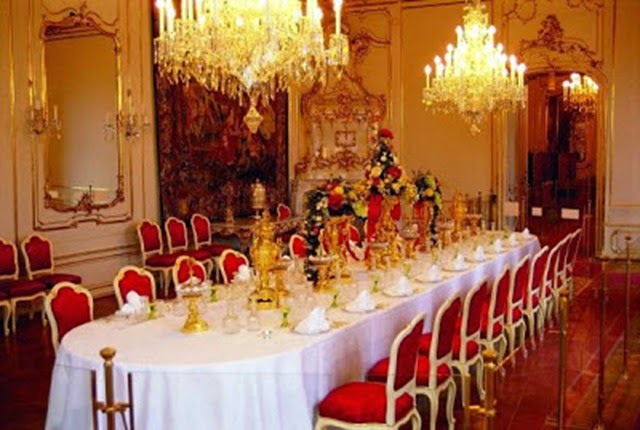 Dining Room at Hofburg