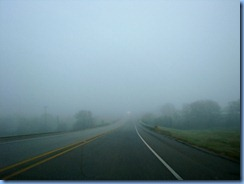 7352 Texas - US-183 North - fog