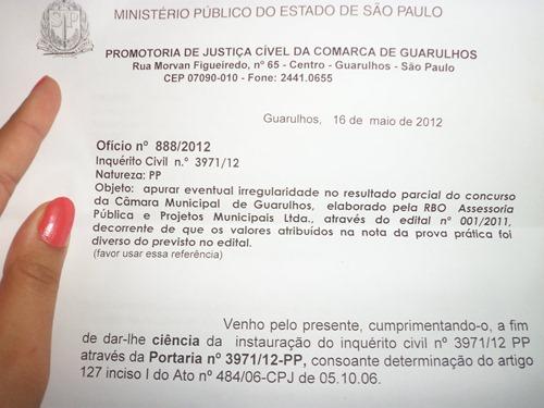 Inquérito Civil nº 3971/12