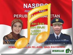 Lagu NASPRO Peserta Pilbup Magetan 2013