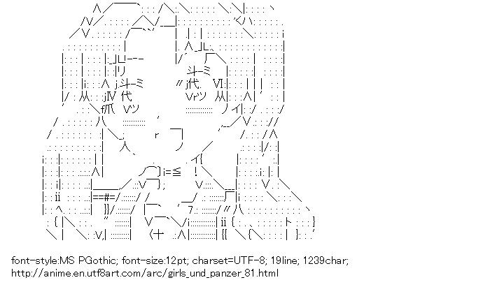Girls und Panzer,Kadotani Anzu