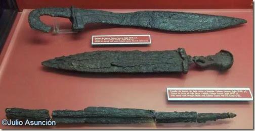 Cabezo Lucero - Conjunto de armamento de guerrro ibero