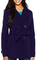 Purple peacoat