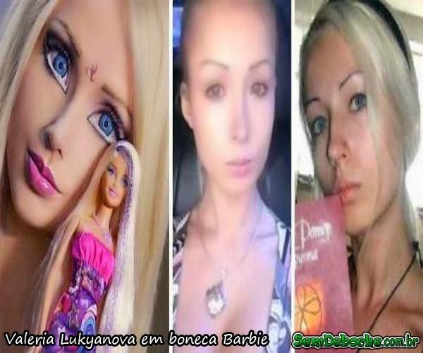 Valeria Lukyanova em boneca Barbie