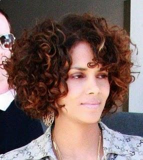 Modern Curly Short Bob Hairstyles