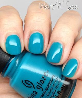 China Glaze Wait N' Sea nail polish