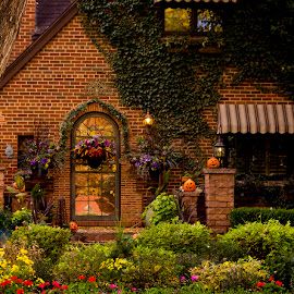 Home Sweet Home by Hannah Maison - City,  Street & Park  Neighborhoods ( home, colors, fall, decorations,  )