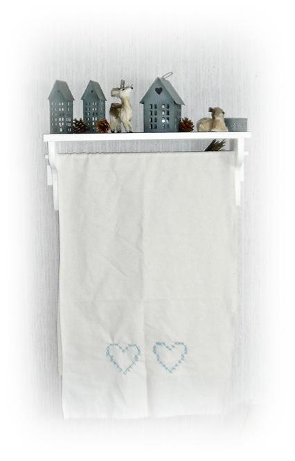 pynte håndkle på hylla