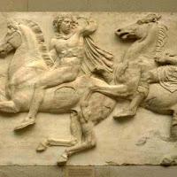 07.- Fidias. Friso del Partenón
