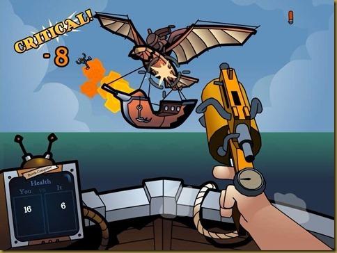 Iron Dukes ゲーム画面