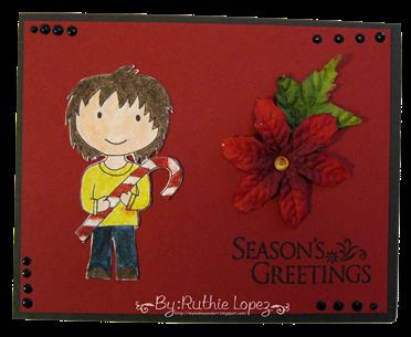 Tarjeta navidena -  christmas card - Platypus Creek Digitals