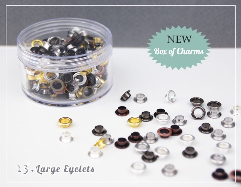 Whiff of Joy: Box of Charms - Large Eyelets