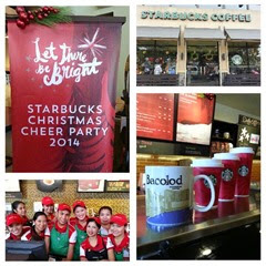 Starbucks Cheer Party