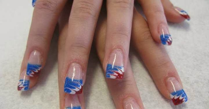 red white and blue nail designs nail designs hair styles tattoos and fashion heartbeats. Black Bedroom Furniture Sets. Home Design Ideas