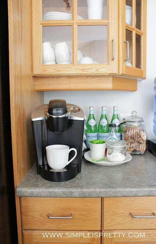 Coffee Station from www.simpleispretty.com