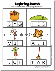 beginning sounds new