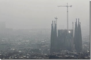 Polución Barcelona