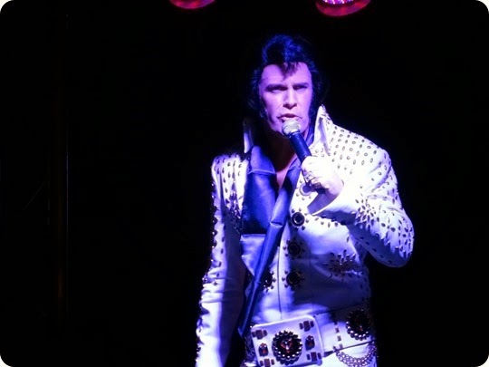 Elvis Impersonator Paul Larcombe