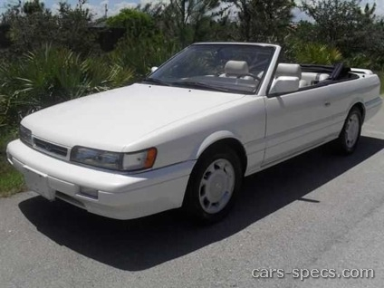 1991 Infiniti M30 Convertible Specifications Pictures Prices