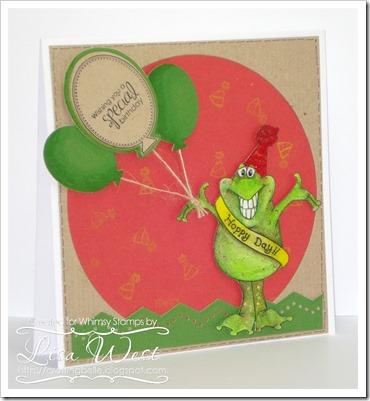 CD Froggie Hoppy Day