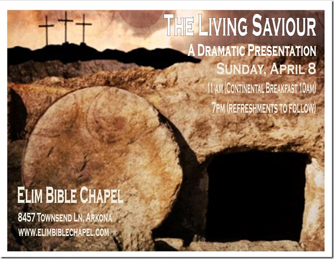2012 Poster Drama The Living Saviour