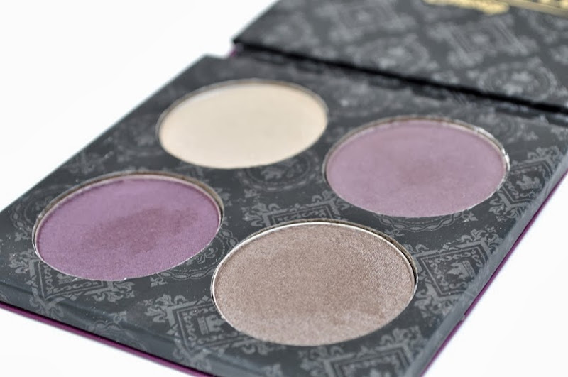 beautifully disney eyeshadow palette l'amour mauve review