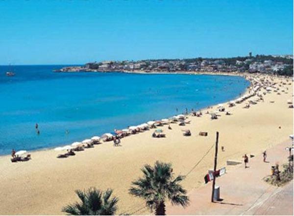 شاطئ تركيا الجميل