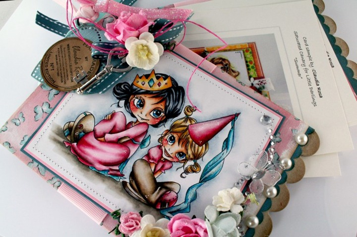 Claudia_Rosa_Princess chipboard album_2