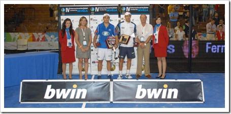 Martín Díaz y Belasteguin Campeones del Bwin PPT Ciudad Sevilla: 8º título de la temporada.