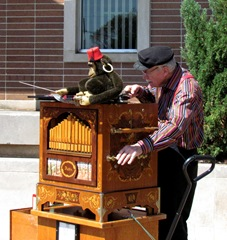 1305058 May 08 Organ Grinder With His Monkey