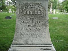sholes grave