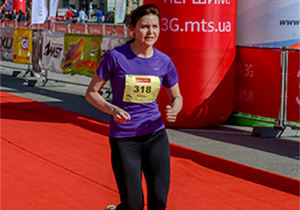 Первый марафон Натальи Караван