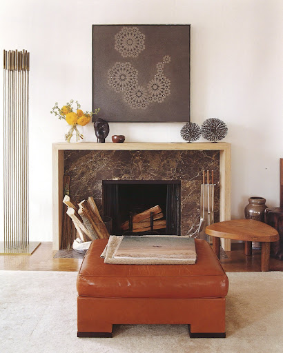 I love how the design is based on the fireplace surround.