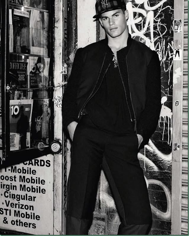 Tyler Maher for GQ Spain September 2013