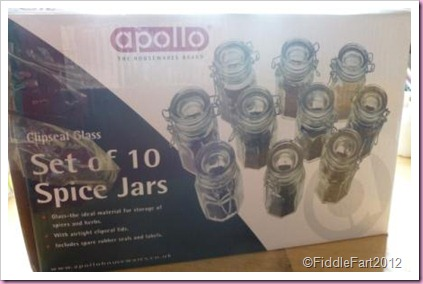 apollo clipseal spice jars