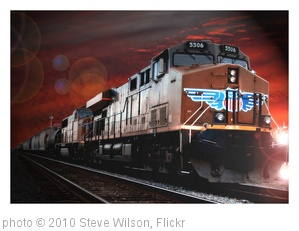 'Freight train' photo (c) 2010, Steve Wilson - license: http://creativecommons.org/licenses/by/2.0/