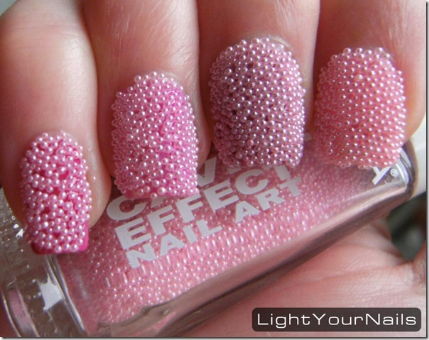 Layla Caviar Effect Nail Art
