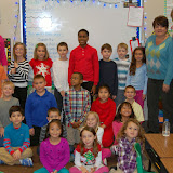 WBFJ Cici's Pizza Pledge - Triad Baptist Christian - Ms. Melton's 2nd Grade Class - Kernersvil