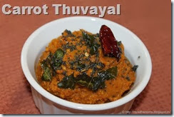 Carrot Thuvayal