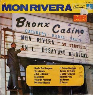 Mon Rivera Y Su Orquesta  En El Desayuno Musical  LP Front