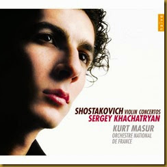Shostakovich Conciertos para violin Katchatryan Masur