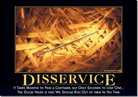 Despair.com - Disservice