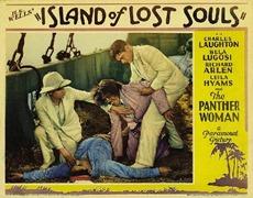 affiche l'île du docteur moreau 1932
