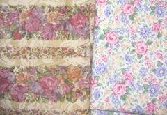 fabric florals