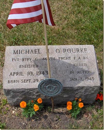 Michael J ORourke Headstone